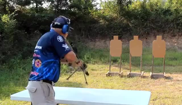 Watch Jerry Miculek GIF on Gfycat. Discover more 50cal, Jerry Miculek. bmg, barrett GIFs on Gfycat