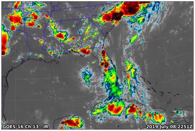Watch and share GOES16 Ch13 2019 07 08 2251 GIFs by suckerfish on Gfycat