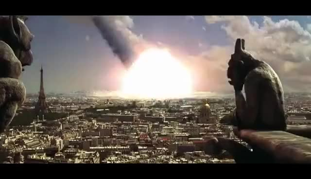 Watch and share Armmageddon - Meteor Hits Paris GIFs on Gfycat