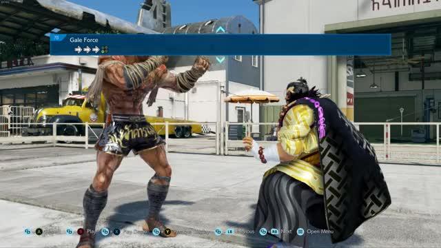 Watch and share Tekken7 GIFs by Tib on Gfycat