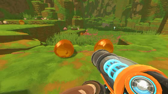 Watch and share Slime Rancher Relaxing Honey Slimes GIFs on Gfycat