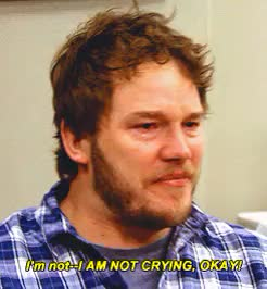 Watch and share Chris Pratt Crying GIFs on Gfycat