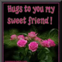 Watch and share Special Friend, Hugs Photo: Hugs To You My Sweet Friend Ths20hugz9.gif GIFs on Gfycat