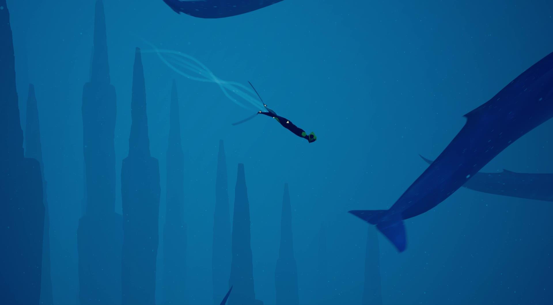 Abzu Whales Part 2 GIFs