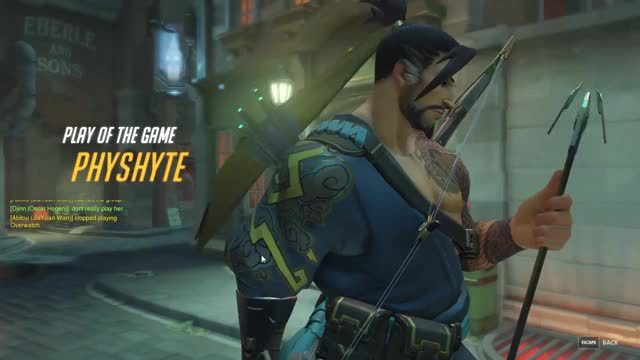 Watch Offensive Hanzo GIF on Gfycat. Discover more hanzo, overwatch GIFs on Gfycat