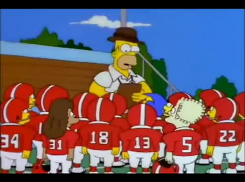 Watch and share A Guide To Cutting Players - Homer Simpson GIFs on Gfycat