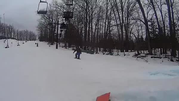 Watch and share Gap To Front Lip On The Battleship Rail; Caberfae Peaks  GIFs on Gfycat
