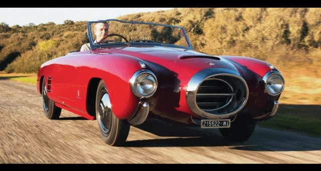 Watch and share RM Auctions Monterey 2014 Preview – 1953 Lancia Aurelia PF200C Spider By Pinin Farina GIFs on Gfycat