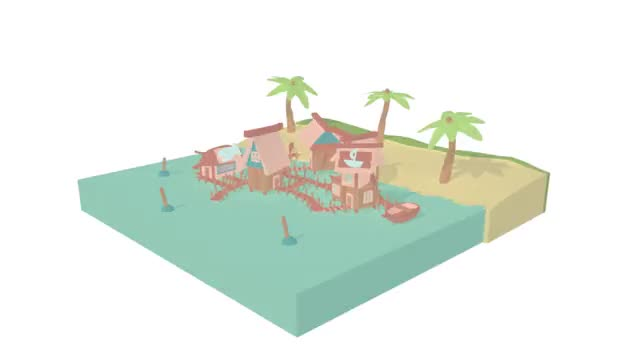 Watch and share Fishing Village 1.0006 GIFs on Gfycat