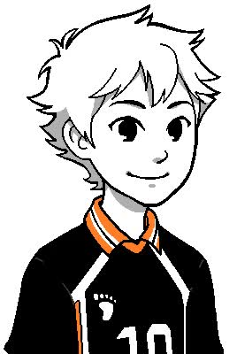 Watch and share 4I MADE HAIKYUU TALKSPRITES!!! Bc Maybe I'm Still Homestuck Trash So What GIFs on Gfycat