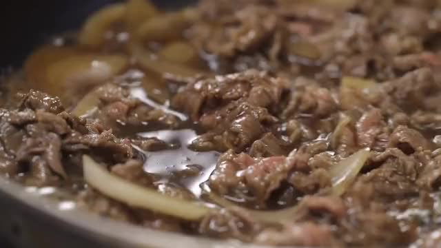 Watch and share Japanese Style Beef Rice Bowl GIFs by food642us on Gfycat