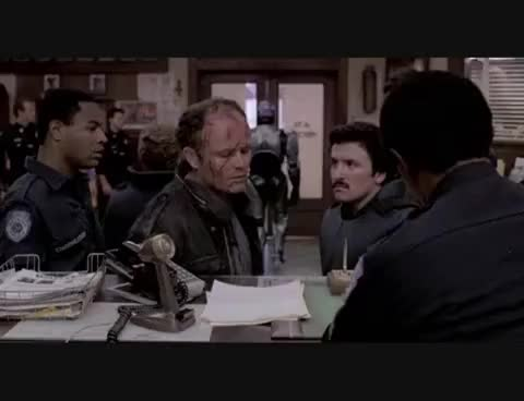 Watch and share Clarence Boddicker GIFs and Phone Call GIFs on Gfycat