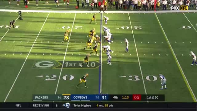 Watch and share Rodgers Throw 1 GIFs by markbullock on Gfycat