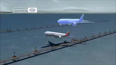 Watch and share Asiana Airlines Flight 214 Crash Scene Animation Video GIFs on Gfycat