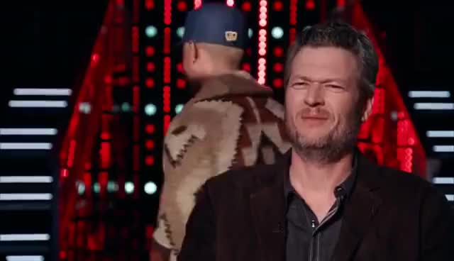 Watch and share Blake Shelton GIFs and The Voice GIFs on Gfycat