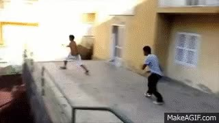 Watch Heaviest parkour accident ever with brain damage GIF on Gfycat. Discover more related GIFs on Gfycat