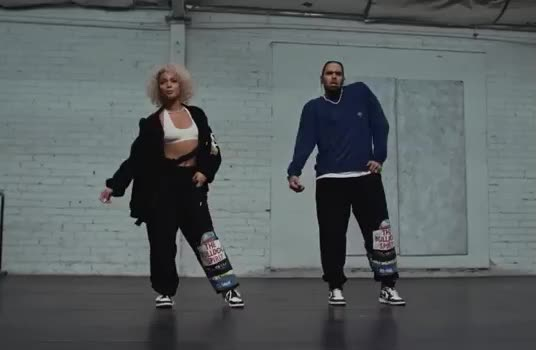 brown, chill, chris, class, couple, dance, dancing, danileigh, easy, enjoy, flirt, how, nice, party, remix, teach, to, together, yeah, yo, DaniLeigh - Easy (Remix) ft. Chris Brown GIFs