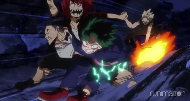 Watch and share Shounen Anime GIFs and Shounen Jump GIFs by My Hero Academia on Gfycat