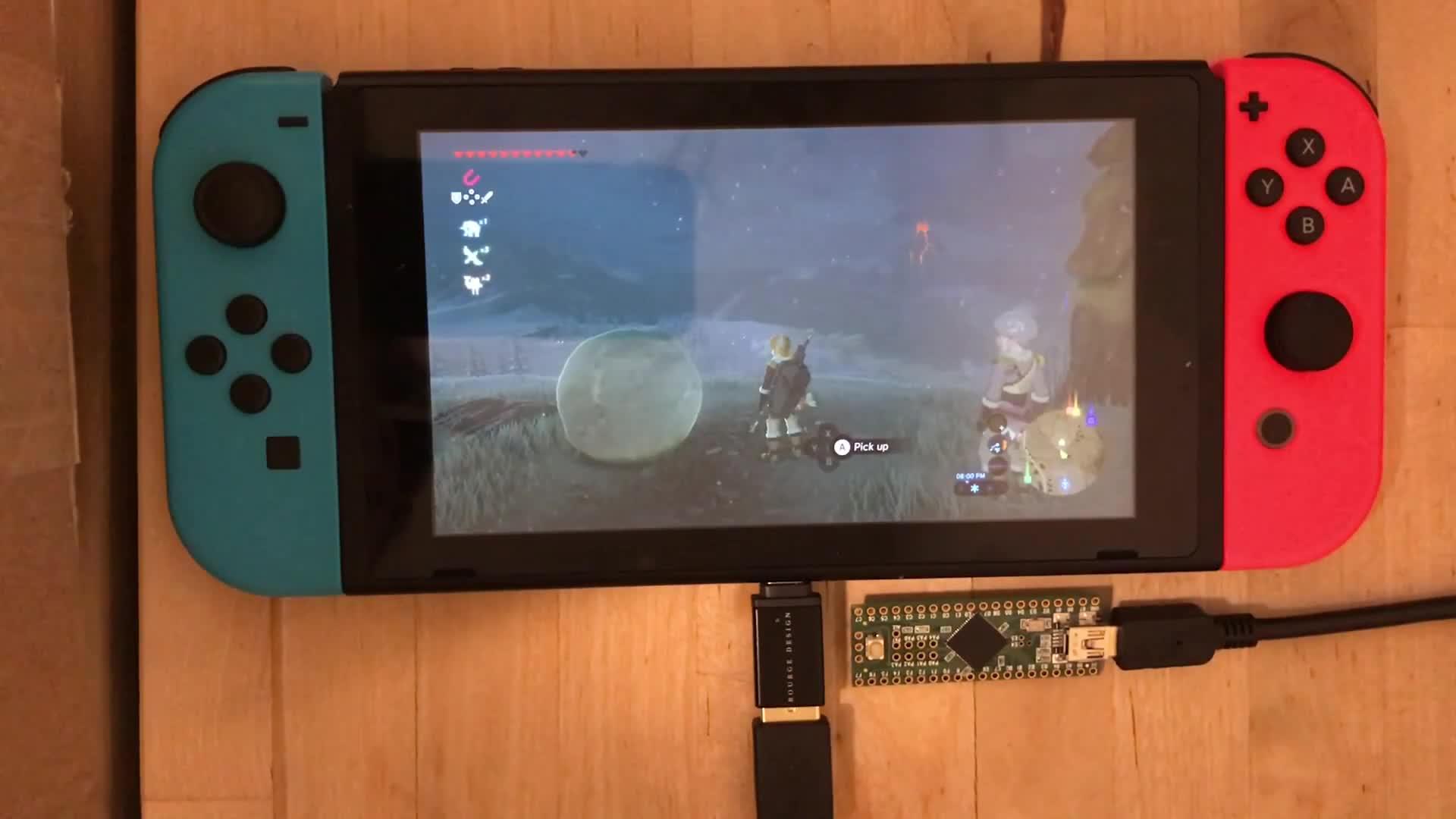 botw zelda breathofthewild switch automation script, Automated Bowling in Zelda GIFs