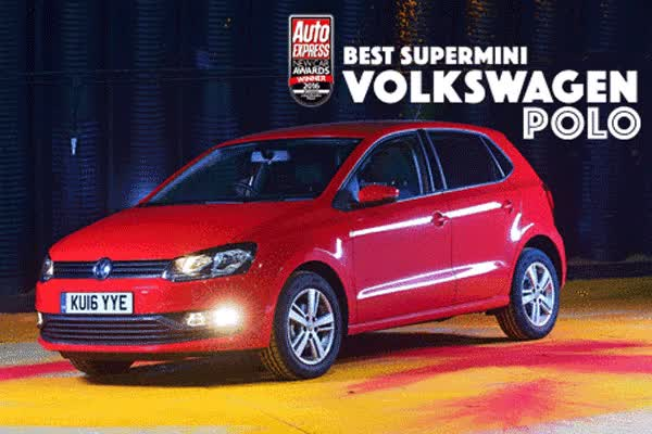 Watch and share Supermini Of The Year 2016: Volkswagen Polo   New Car Awards: The Winners   Auto Express GIFs on Gfycat
