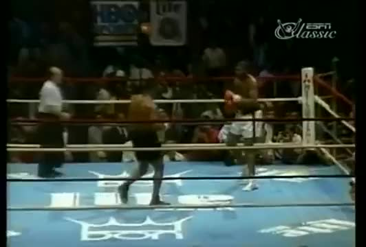 Watch Mike Tyson staggered step to deliver right hand. SugarBoxing GIF by sugarboxing on Gfycat. Discover more related GIFs on Gfycat