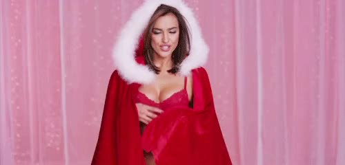 Watch this sexy GIF by GIF Queen (@ioanna) on Gfycat. Discover more christmas, claus, holidays, irina, santa, sexy, shayk, xmas GIFs on Gfycat
