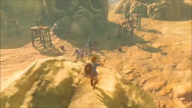 Watch The Legend Of Zelda: Breath of The Wild Nintendo Switch Presentation 2017 GIF by GIF Reactions (@visualecho) on Gfycat. Discover more nintendo, nintendoswitch, nintendoswitchpresentation2017 GIFs on Gfycat