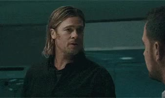 Watch and share Brad Pitt Lowers His Standards GIFs on Gfycat