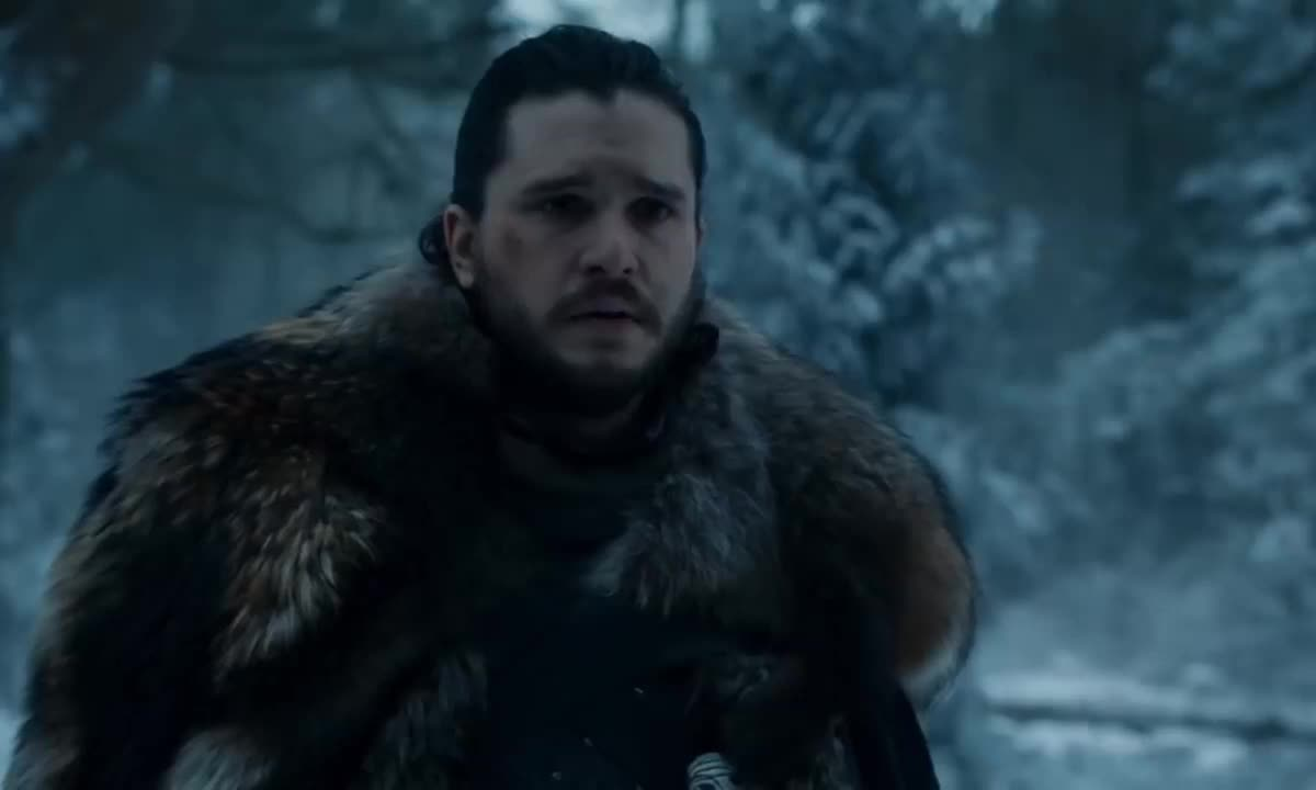 arya stark, bran stark, game of thrones, isaac hempstead wright, jon snow, kit harington, maisie williams, sansa stark, season 8, sophie turner, Jon Tells Arya Sansa Truth Game of Thrones GIFs