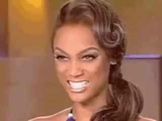 Watch this tyra banks GIF by The GIF Forge (@leahstark) on Gfycat. Discover more antm, face stretch, funny, hilarious, tyra banks, wtf GIFs on Gfycat