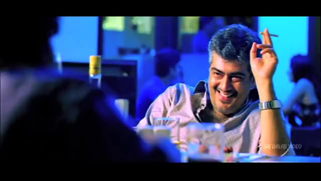 Watch and share Gambler Movie Prem And Ajith Party Scene | Ajith Kumar, Arjun, Trisha | Sri Balaji Video GIFs on Gfycat