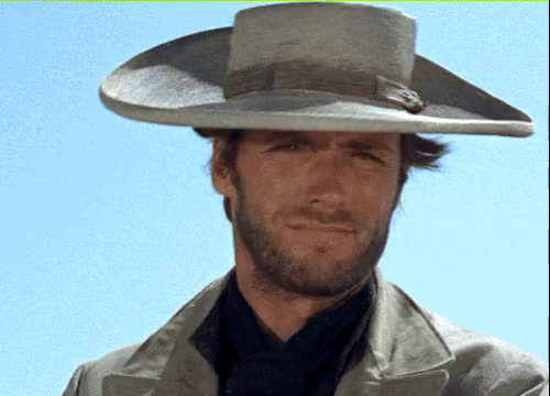 Watch and share Clint Eastwood GIFs by Elaine Cheng on Gfycat