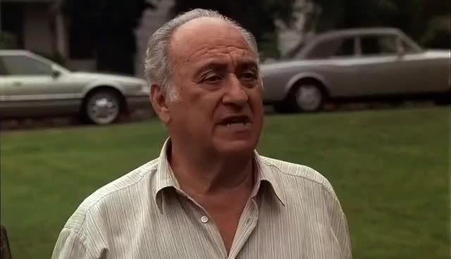 Watch and share The Sopranos Tony And Hesh Meeting With Massive Genius HD GIFs on Gfycat