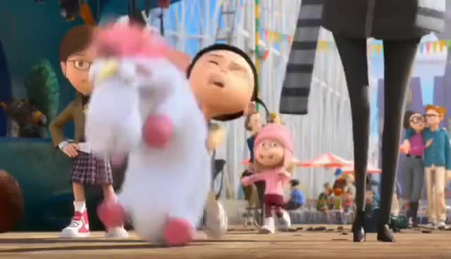 Watch FLUFFY! GIF on Gfycat. Discover more agnus, despicable me, fluffy GIFs on Gfycat