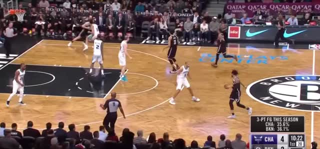 Watch and share Charlotte Hornets GIFs and Basketball GIFs by reedwallach on Gfycat