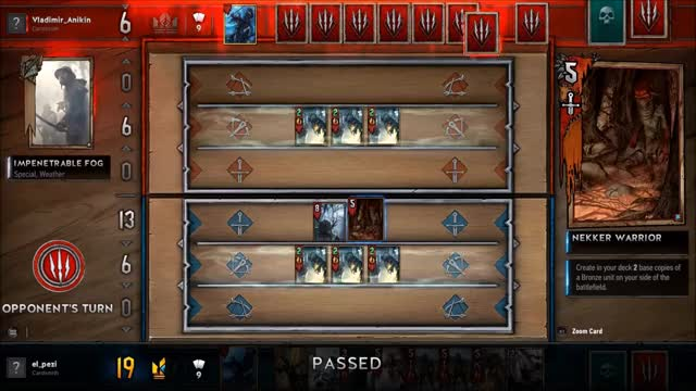 Watch and share Gwent Geralt Aard GIFs on Gfycat