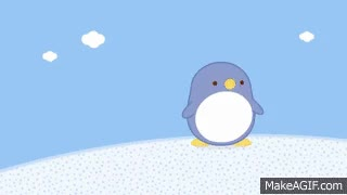 Watch and share The Penguin | Molang | Disney Junior GIFs on Gfycat
