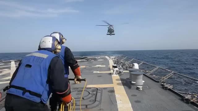 Watch and share Arleigh Burke Class GIFs and Mediterranean Sea GIFs on Gfycat