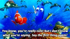 Watch and share Finding Nemo Mine GIFs on Gfycat