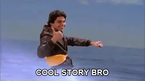 Watch and share Cool Story Bro GIFs and Bromance GIFs by Reactions on Gfycat