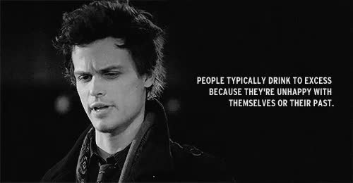 Watch and share Depressing Quotes GIFs and Spencer Reid GIFs on Gfycat