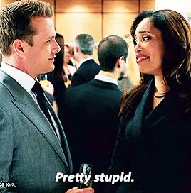 Watch and share Jessica Pearson GIFs and Harvey Specter GIFs on Gfycat