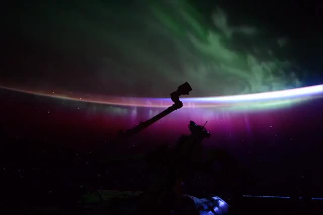 Watch Aurora Sunrise GIF by @atle on Gfycat. Discover more space GIFs on Gfycat