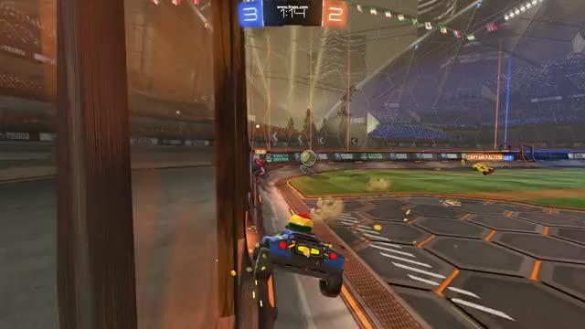 Rocket League - Pass to Corner