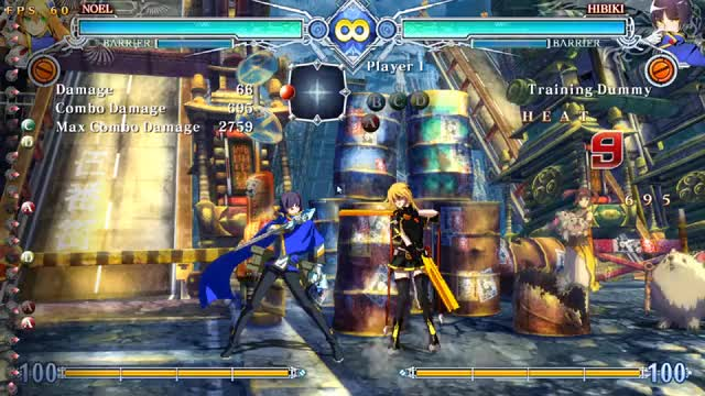 Watch and share BBCF Noel  Combo GIFs by 404waifunotfound on Gfycat