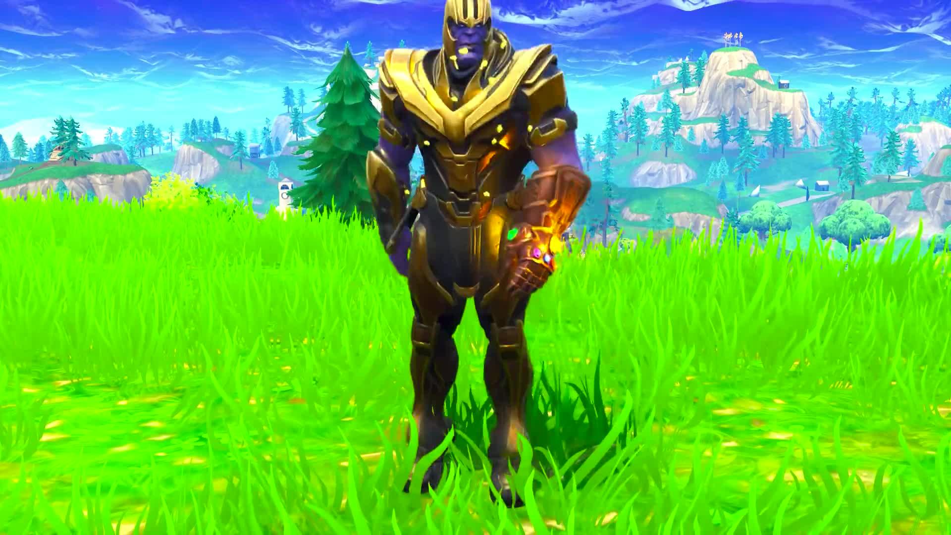 Thanos Orange Justice Dance Emote Dance Pt3 Fortnite Battle