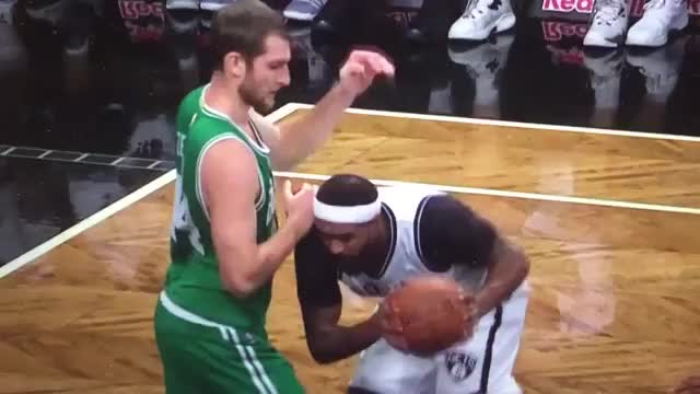 Watch and share Trevor Booker Attempts Blindfolded Shot GIFs on Gfycat
