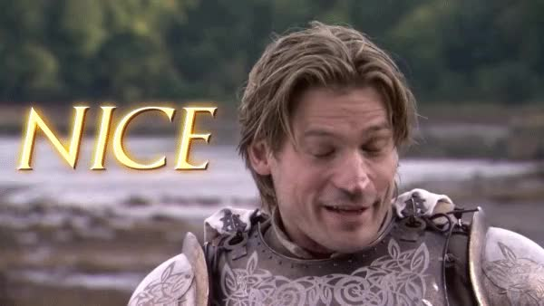 Watch and share Nikolaj Coster Waldau GIFs and Jaime Lannister GIFs by Reactions on Gfycat