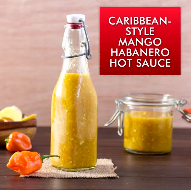 Watch Caribbean-Style Mango-Habanero Hot Sauce GIF by @uncle_retardo on Gfycat. Discover more http://www.chilipeppermadness.com GIFs on Gfycat