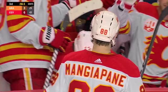 Watch and share Calgary Flames GIFs and Anaheim Ducks GIFs by Anthony Cook on Gfycat